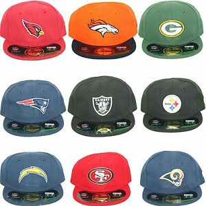 New-Era-NFL-Infants-Newborn-Baby-My-1st-59Fifty-5950-Fitted-NFL-Cap-Hat