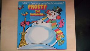 Mr Pickwick Records Frosty The Snowman Lp 70s Snowman Decoration