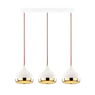 OPVIQ Suspension YILDO en Métal Luminaire Blanc avec 3 Têtes et Hauteur Réglable   eBay
