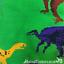 thumbnail 4 - Novelty-fun-adults-Dinosaur-lover-gift-socks-Unisex-One-Size-stocking-filler