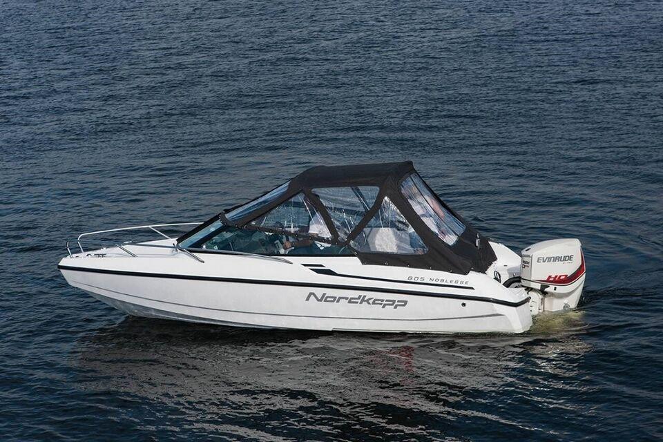 Nordkapp Noblesse 605 - 100 HK Yamaha/Udstyr, Motorbåd,