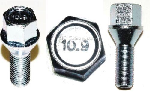 etc. 16 tornillos m12x1,5x26mm sw17 kegelbund perno de rueda para llantas BMW