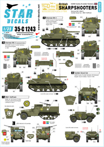 Star-Decals-1-35-Britanico-Sharpshooters-75th-D-Day-Especial-35-C1243