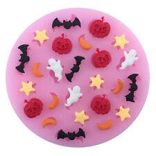 Halloween-Kürbis-Silikon-Icing-Form-Backen-Schokoladen-Kuchen Topping Mold
