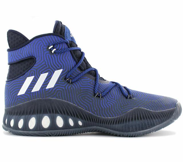 adidas Crazy Explosive Boost Herren Basketballschuhe B49394 Blau Sportschuhe NEU