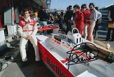 Patrick Tambay Hand Signed Marlboro McLaren F1 12x8 Photo 1.
