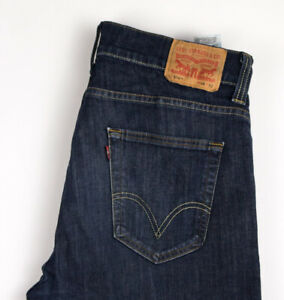 Levi-039-s-Strauss-amp-Co-Hommes-506-Slim-Jambe-Droite-Jeans-Extensible-Taille-W38-L32