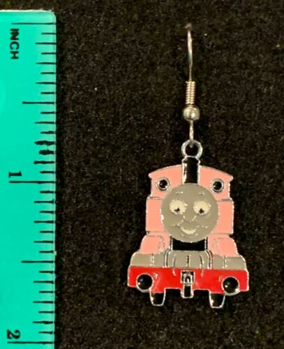 ROSIE the TRAIN BLUE Earrings Stainless Steel New PBS Classic Thomas Tank Lady