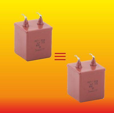 МБГП–2 15uF 200V 10/% RUSSIAN AUDIO CAPACITORS PIO Capacitors 1 X MBGP-2