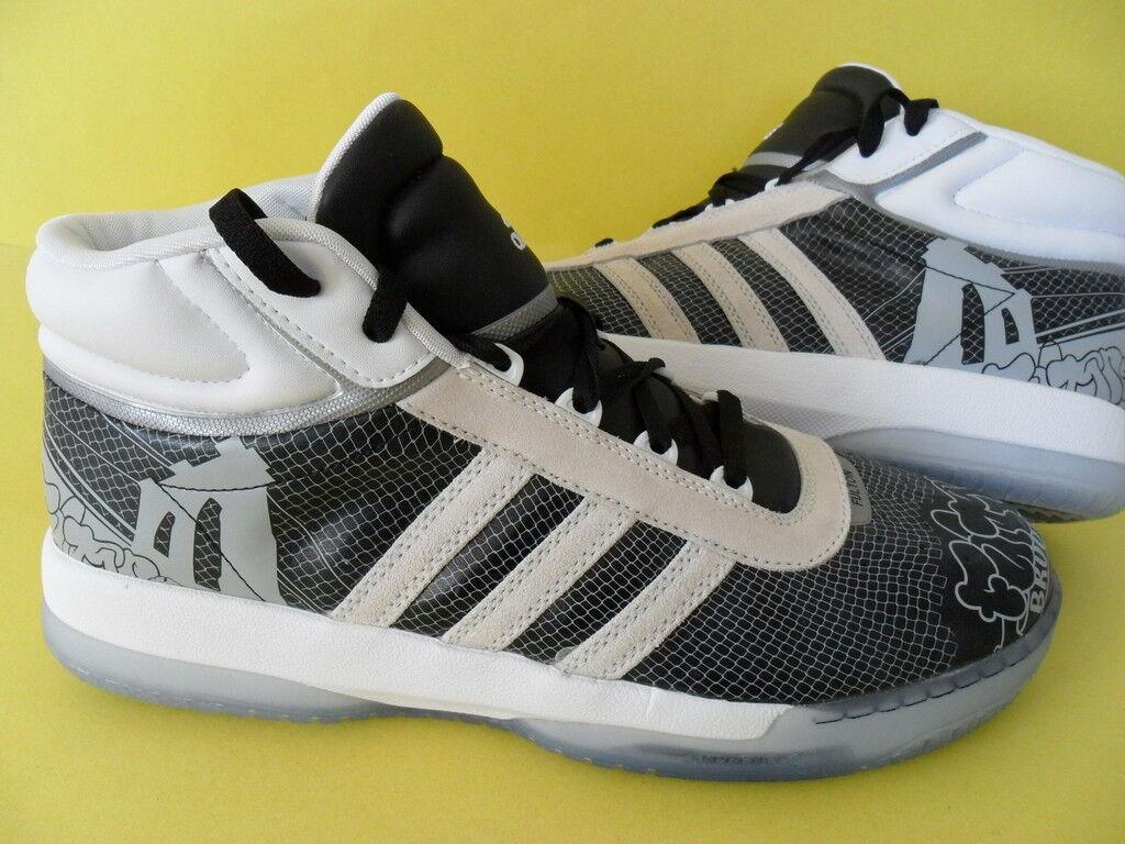 ~RARE~Adidas FULTON MID BROOKLYN GRAFFITI gazelle campus Basketball Shoe~Mens 12