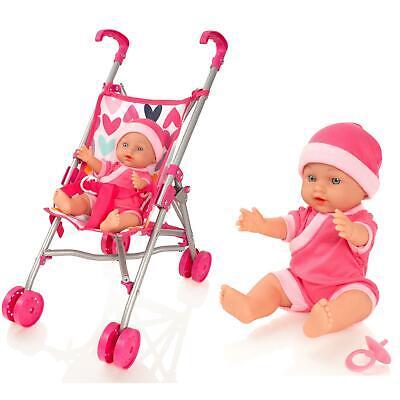 Molly Dolly My First Dolls Pram Buggy Pushchair Amp Baby