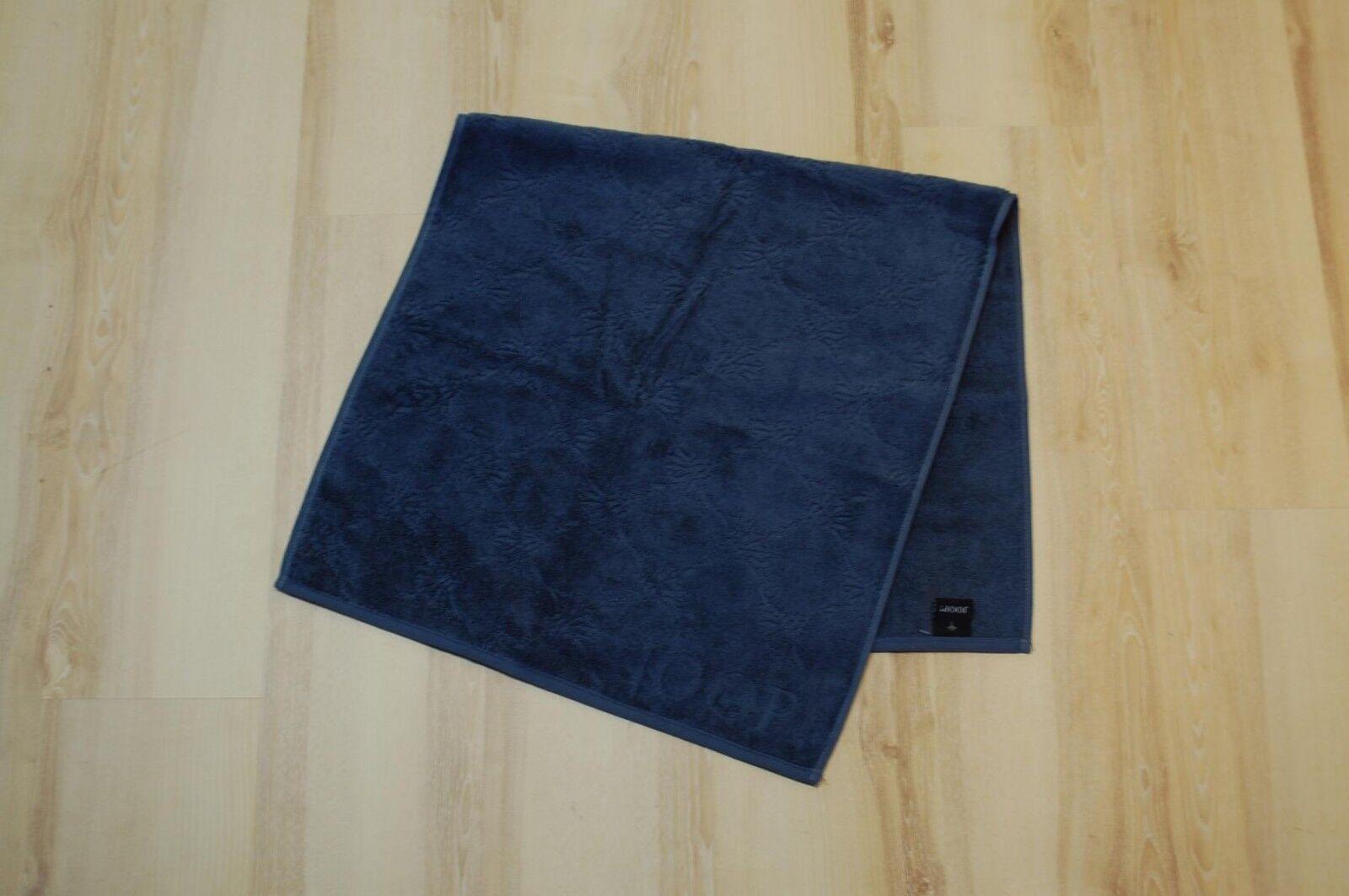 Joop  Serviette de Toilette Douche 1670 Uni-Cornflower 111 Bleu Marine 80x150cm