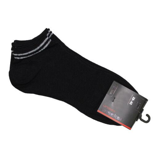 3x Lenz Chaussettes sneaker unisexe sneakersocken kurzsocken 3er pack socks be1400019