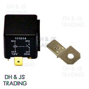 Herth /& Buss Relay 4-Pin 12V