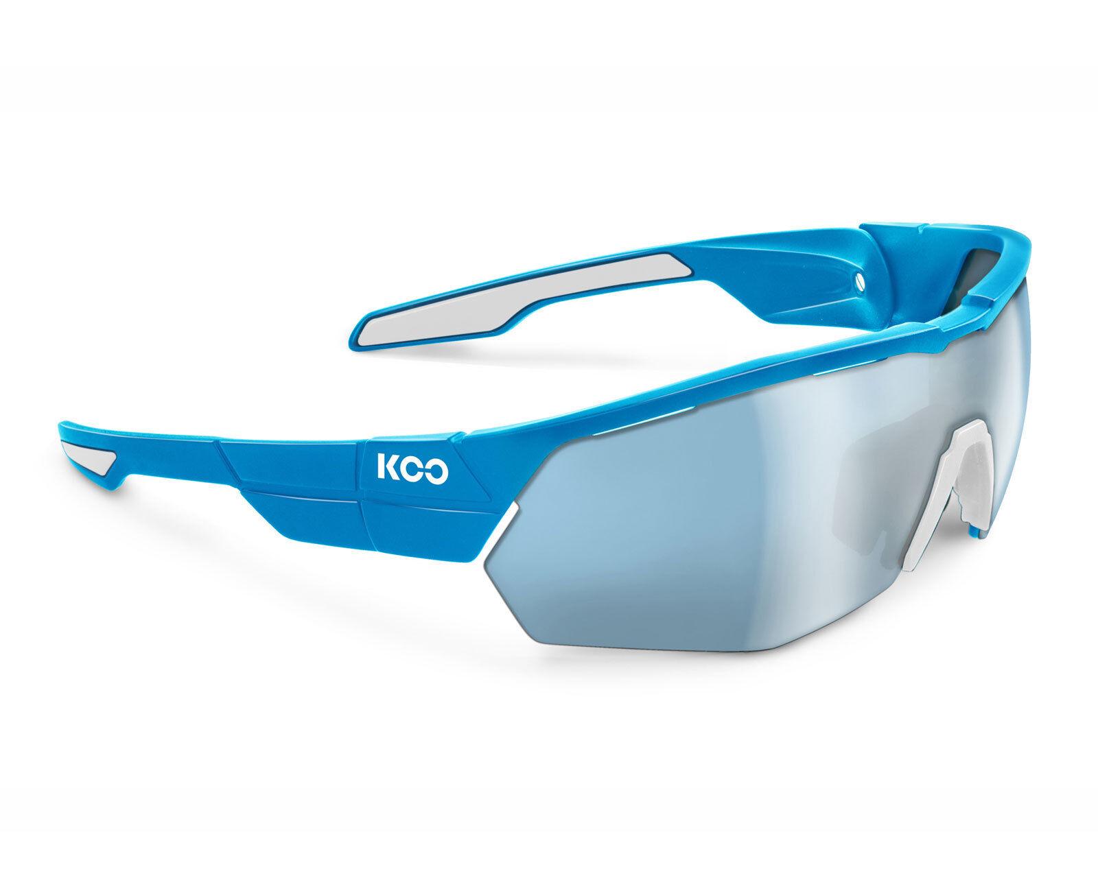 KOO OPEN CUBE  Sunglasses Asian Fit - Light bluee [Lens  Super bluee]  counter genuine
