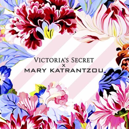 Victoria/'s Secret by Mary Katrantzou Floral Sleepwear Satin PJ Set Sz//Small NEW!