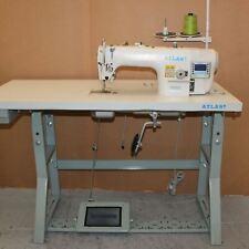 Automatic Lockstitch Straight Button Hole Sewing Machine Atlasusa At781d