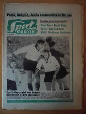 SPORT MAGAZIN KICKER 51A-23.12. 1957 * Juskowiak Kelbassa Deutschland-Ungarn 1:0