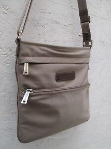 Détails sur -AUTHENTIQUE sac bandoulière LANCASTER toile TBEG vintage bag