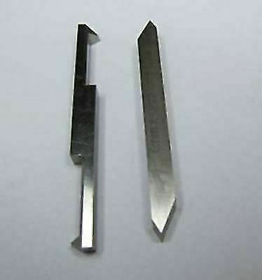 HIGH SPEED LATHE TOOL 8 MM 55/&60 DEGREE SET OF 2PCs DOUBLE ENDED THREADING TOOL