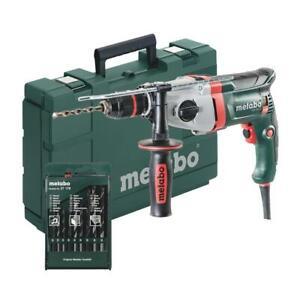 Metabo-Schlagbohrmaschine-SBE-850-2-inkl-Bohrer-850W-Zweigang-Bohrmaschine