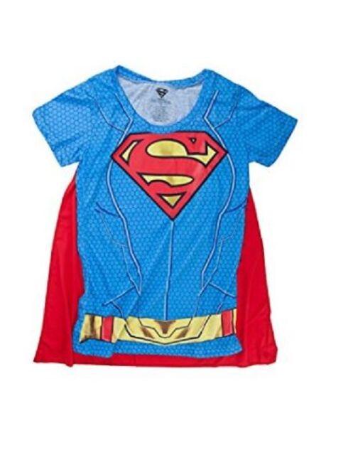 DC Comics Superman Logo Caped Tee Toddler Costume