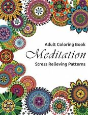 Mandala Coloring Book Books For Adults Stress Relieving Patterns NO TAX