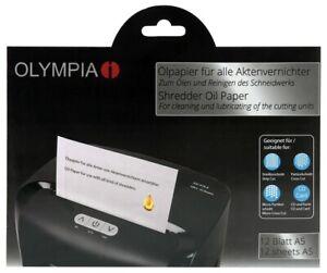 OLYMPIA-Olpapier-fuer-Aktenvernichter-zum-Reinigen-Schmieren-des-Schneidwerkes