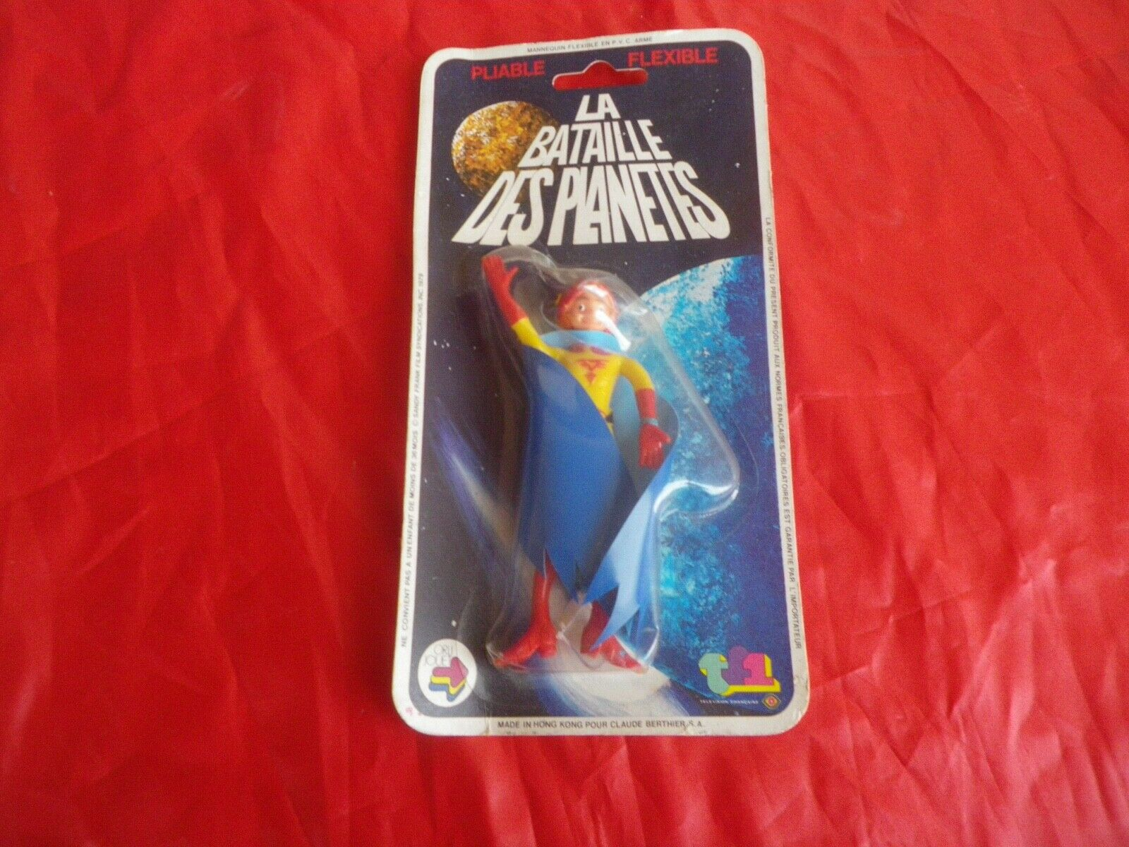 Gatchaman Battle of planetes figurine kipo flexible orli jouet 1980
