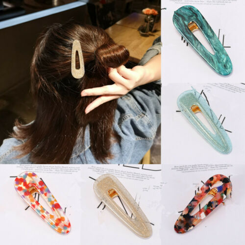 Accessories Hairpins  Tin Foil Sequins  Girls Hairgrips  Acrylic Hair Clips