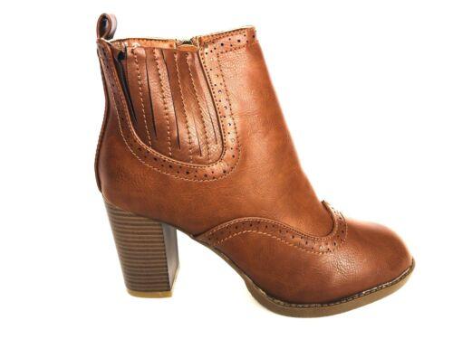 New women block heel  zipper  ankle booties shoes on sale now