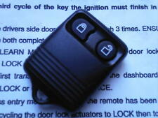 GENUINE FORD BUS TRANSIT CONNECT ETC (RF TYPE) 2BUTTON REMOTE ALARM KEY FOB+CODE