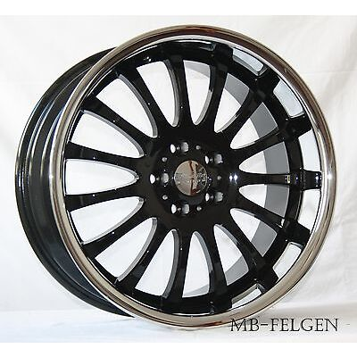 Rimstock Equinox black Alufelgen Tiefbett 8,5/9,5x19 ET35 3er E90 E91 E92 E93