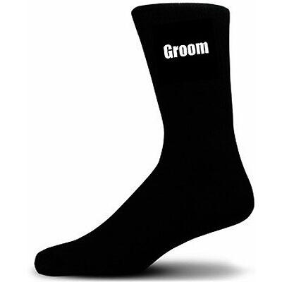 Black Luxury Cotton Rich Wedding Socks, Groom, Best Man, Usher & Page Boy & more