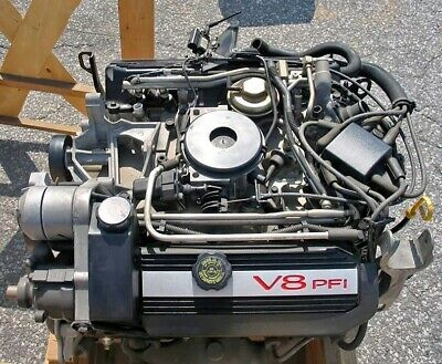 gm oem l26 tbi v8 engine cadillac 1991 95 4 9l v8 ebay gm oem l26 tbi v8 engine cadillac 1991 95 4 9l v8 ebay