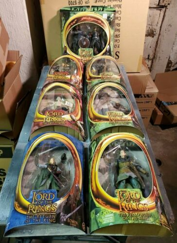 """Lord of the Rings Fellowship,Two Towers 6/"""" figures Toy Biz 2002 Variety"""