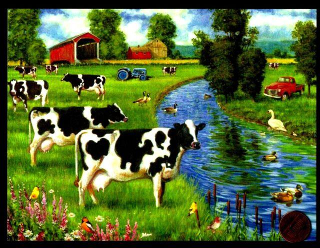Cows Stream Truck Barn Farm Ducks Bird Tractor - Thank You ...