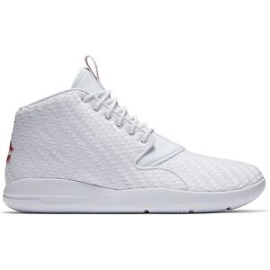 Men s Jordan Eclipse Chukka Shoe 881453-101 WHITE GYM RED-BLACK  e4d1918f0