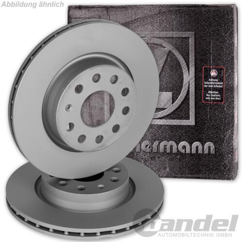 2x ZIMMERMANN Disque De Frein Avant Hyundai h-1