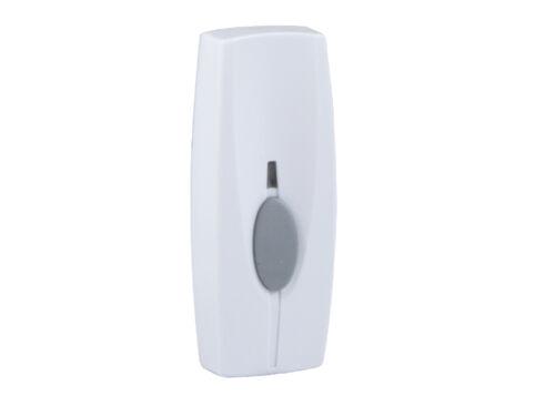Weißer Klingelknopf Zusatzklingelknopf Klingelplatte Funk-Klingel Taster