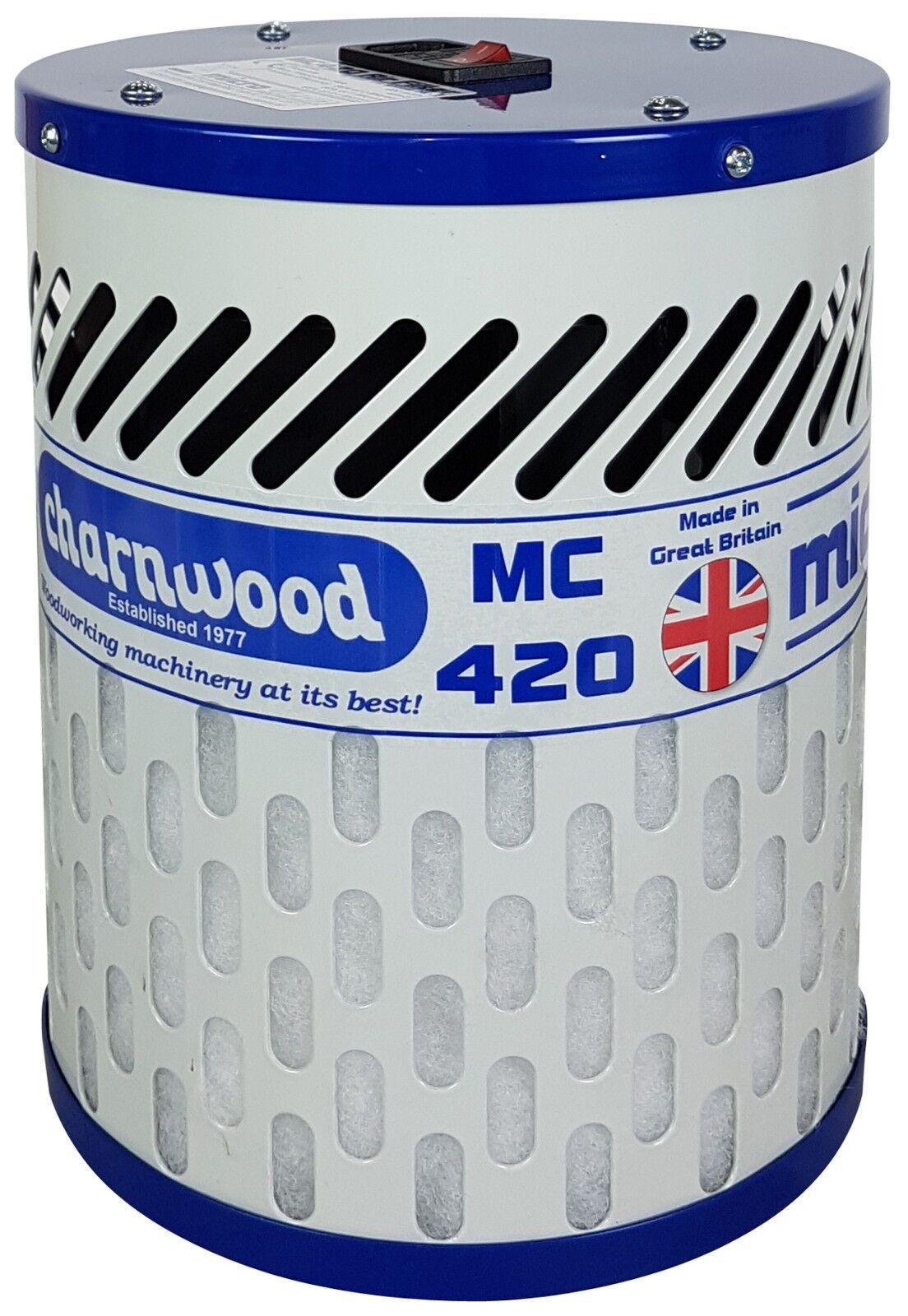 NEW CHARNWOOD MC420 Micro Clean 1 Micron Air Filter, 400m3/h ( Microclene )
