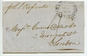 1854-MAURITIUS-General-Screw-Steam-Shipping-Co-per-Propontis-Oriental-Ripon
