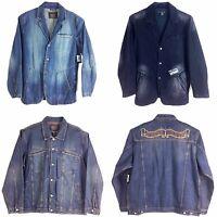 Le Jeans Marithe Francois Girbaud, Men's Denim Jacket,
