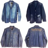Le Jeans Marithe Francois Girbaud, Men's Denim Jacket,