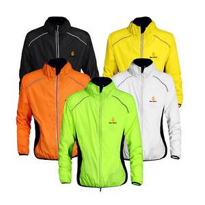 NEW-Fashion-Cycling-Bicycle-BIKE-Coat-Windproof-Long-Sleeve-Jersey-Jacket-Green