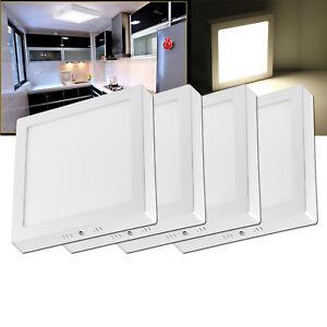 18W//24W //36W//48W LED Panel Deckenanbauleuchte Deckenlampe Aufputz Lampe 220V DHL