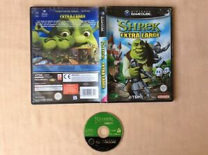 GAMECUBE-Shrek-Extra-Large-GAME-CUBE-NINTENDO-PAL-FR-EN-BOITE