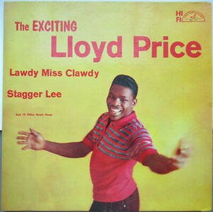 LLOYD PRICE: The Exciting Lloyd Price LP ABC-277 VG
