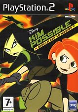 Jeu PS2  Kim Possible : Quelle est la mission - Disney - Playsation 2