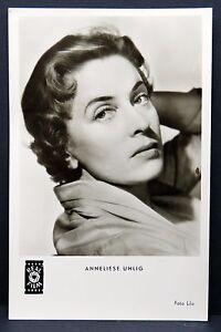 Anneliese-Uhlig-AK-Foto-Autogramm-Karte-Photo-Postcard-G-2855